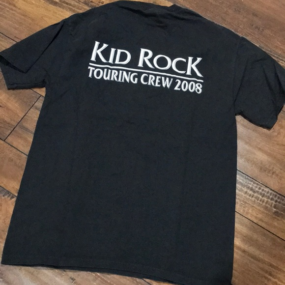 63cd28d0 Vintage Shirts   Kid Rock Coors Light Touring Crew 2008 Tshirt ...